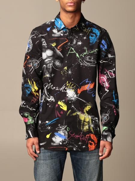 Moschino Couture shirt with all over prints