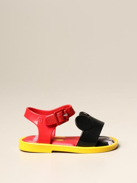 Sandalo Mini Melissa in gomma con Topolino