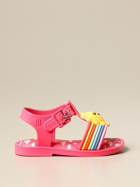 Sandalo Mini Melissa in gomma arcobaleno