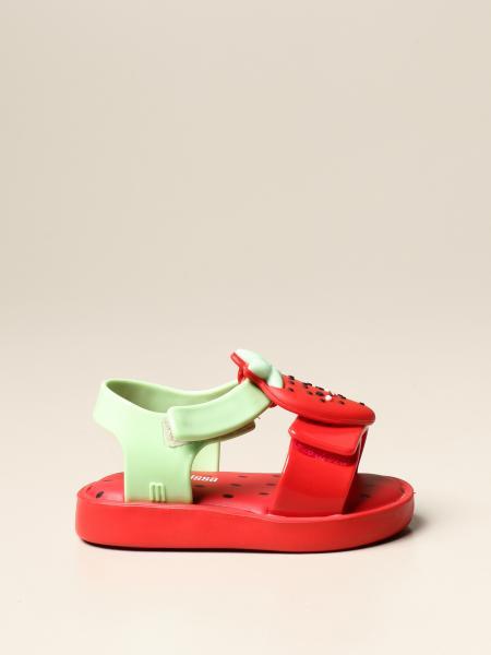 Sandalo Mini Melissa in gomma a forma di frutta