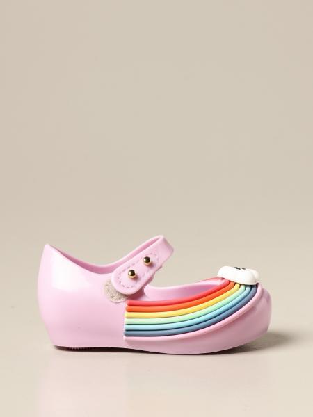 Ballerina Mini Melissa in gomma arcobaleno