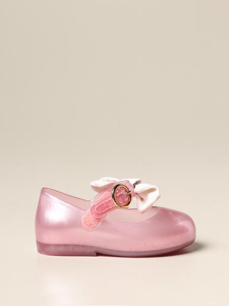 Ballerina Mini Melissa in gomma con fiocco
