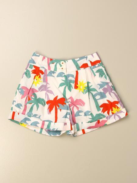 Stella Mccartney kids: Stella McCartney shorts with palm print
