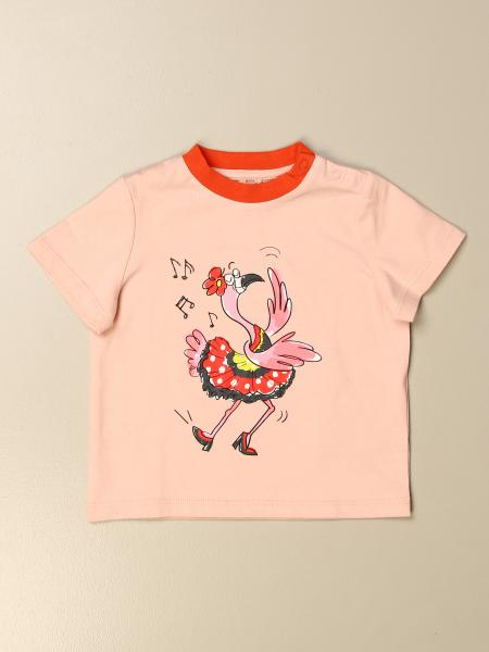 Stella McCartney T-shirt with flamingo print