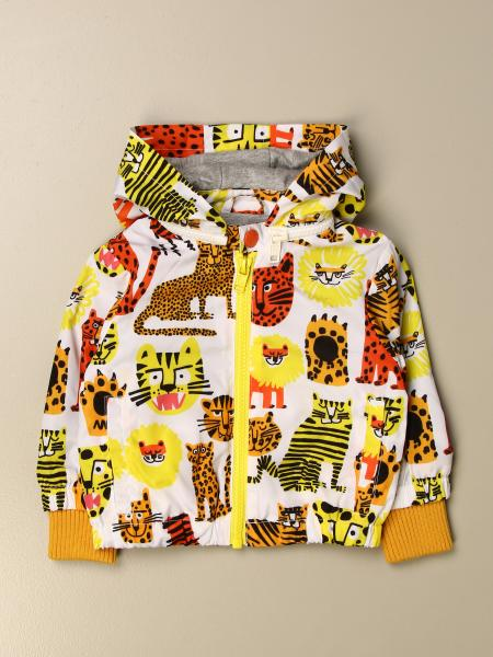 Stella Mccartney kids: Stella McCartney zip-up jacket with animal pattern