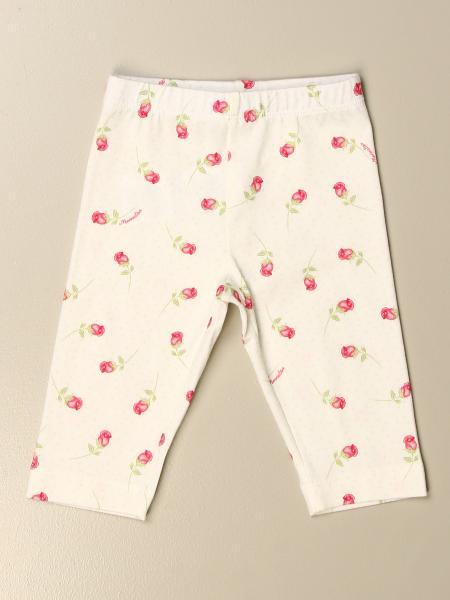 Monnalisa: Leggings Monnalisa in cotone a fantasia floreale