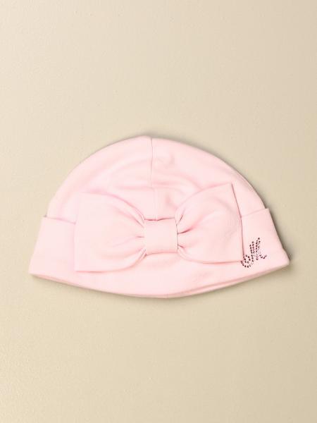 Monnalisa bambino: Cappello a berretto Monnalisa con fiocco
