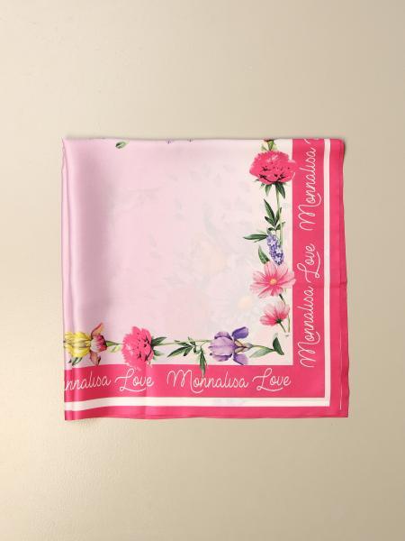 Monnalisa: Foulard Monnalisa a fantasia floreale