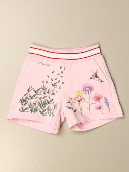 Monnalisa: Pantaloncino Monnalisa in cotone a fantasia