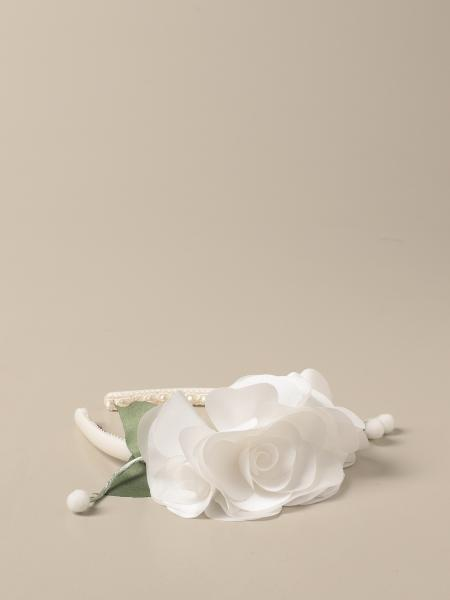 Monnalisa headband with floral applications