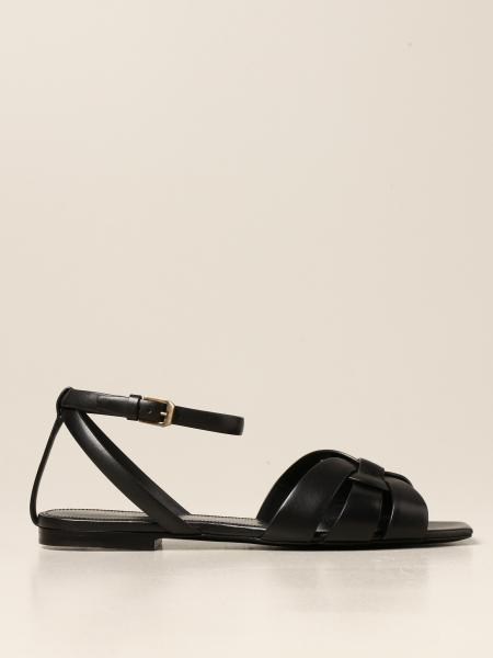 Heeled sandals women Saint Laurent
