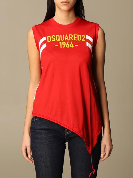 Dsquared2: T恤 女士 Dsquared2