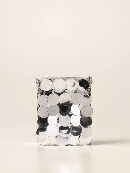 Paco Rabanne: Paco Rabanne bag with all-over mirrored circles