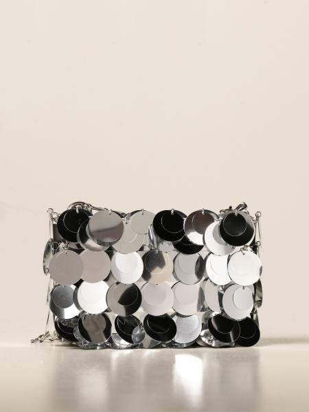Paco Rabanne: Paco Rabanne shoulder bag with all-over mirrors