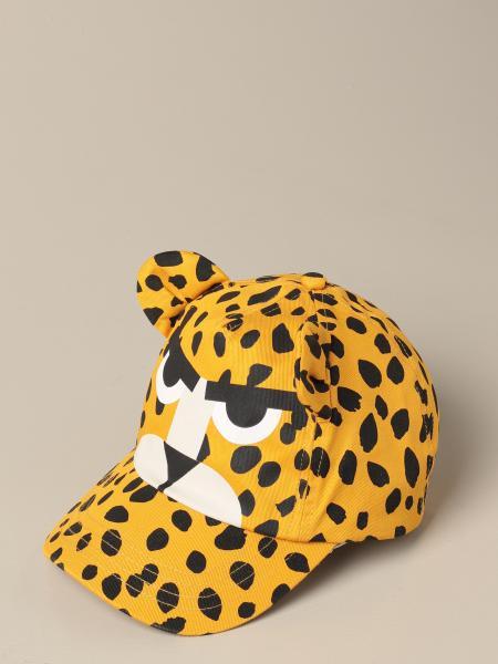 Stella McCartney baseball cap with tiger pattern