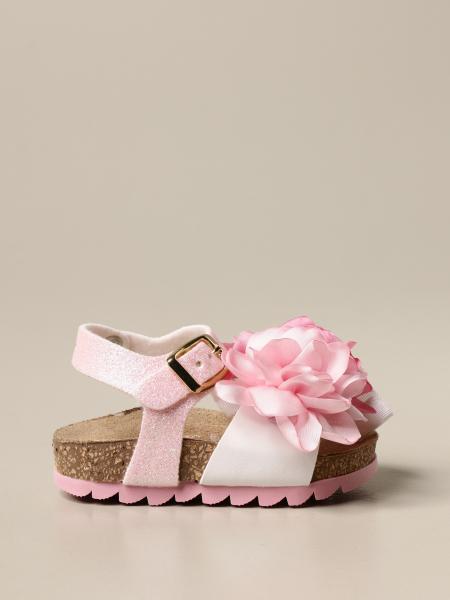 Sandalo Monnalisa con fiore