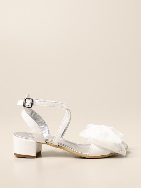 Sandalo Monnalisa con fiocco