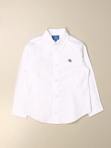 Fay classic shirt in cotton with logo