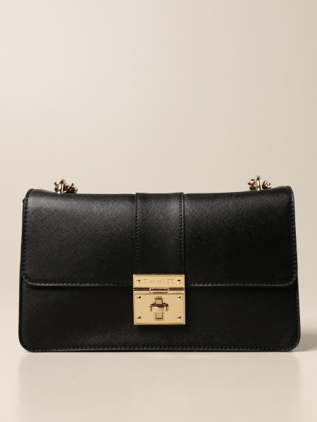 Twin-set bag in saffiano synthetic leather