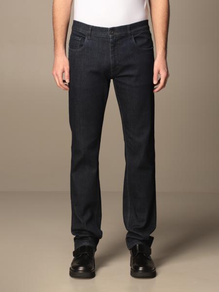 Prada uomo: Jeans Prada a 5 tasche in denim di cotone