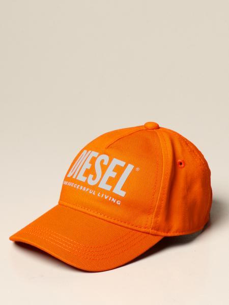 Diesel kids: Diesel baseball cap with logo