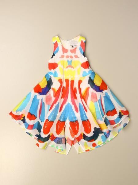 Stella Mccartney kids: Stella McCartney dress with pictorial pattern