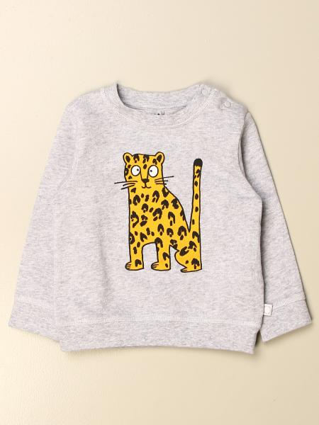 Stella McCartney crewneck sweatshirt in cotton with leopard