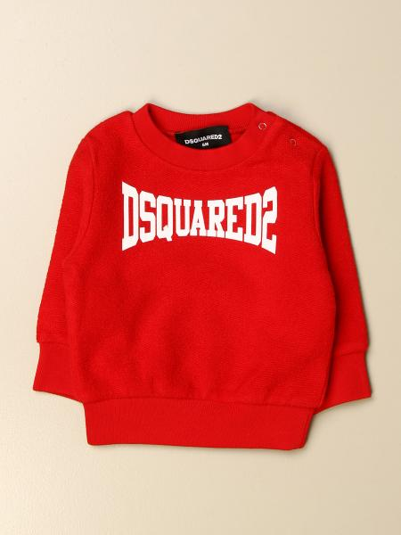 Dsquared2 Junior sweatshirt in cotton with logo
