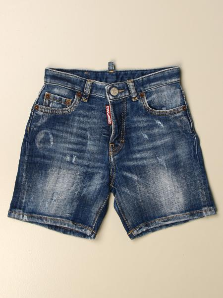 Dsquared2 Junior kids: Dsquared2 Junior denim shorts