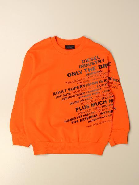Diesel kids: Diesel crewneck sweatshirt with print