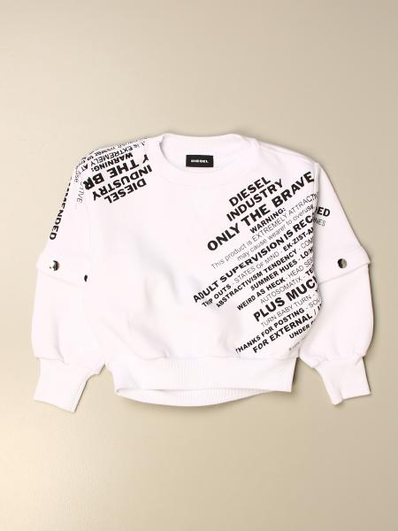 Diesel crewneck sweatshirt with print