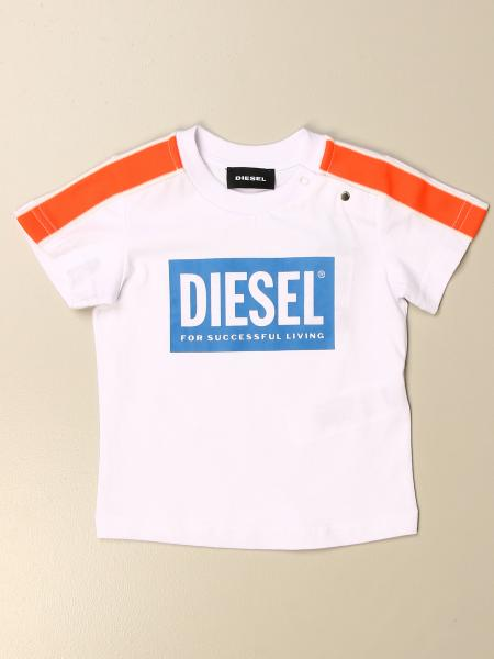 Diesel cotton t-shirt with logo