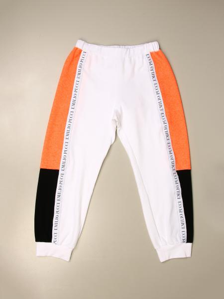 Emilio Pucci: Emilio Pucci jogging trousers with logoed bands