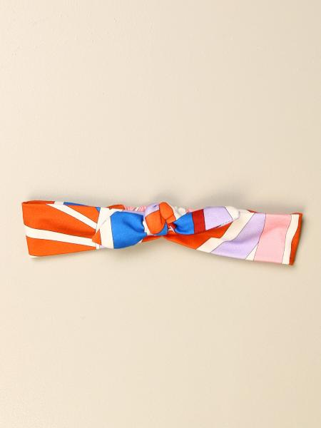 Emilio Pucci: Emilio Pucci headband in printed cotton