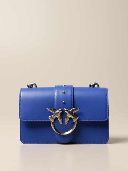 Pinko: Love Mini Icon Simply Pinko bag in leather