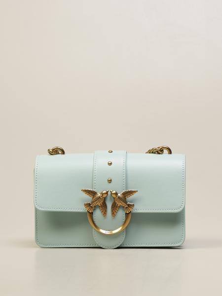 Love Mini Icon Simply Pinko bag in leather