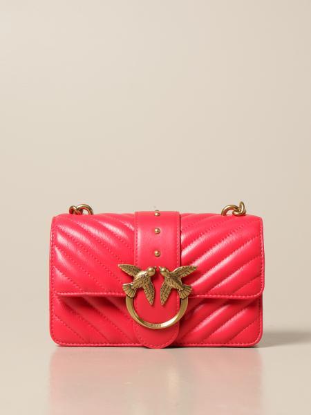 Pinko women: Love Mini Icon Simply Pinko bag in quilted nappa