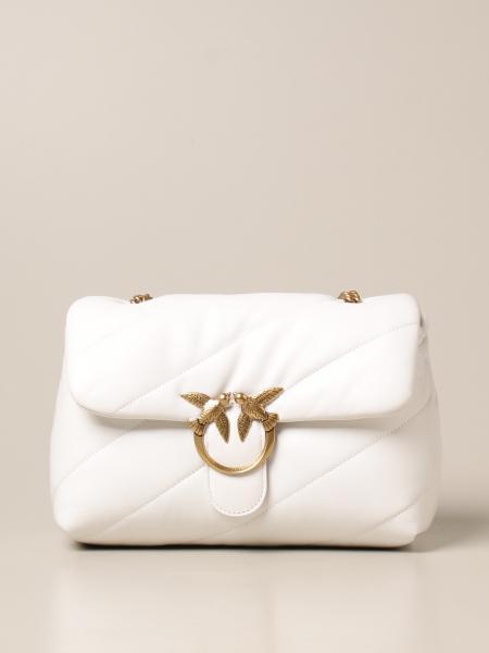 Pinko women: Love Classic Puff Maxi Quilt Pinko bag in nappa leather