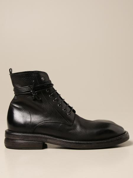 Marsèll Dodone lace-up ankle boots in leather