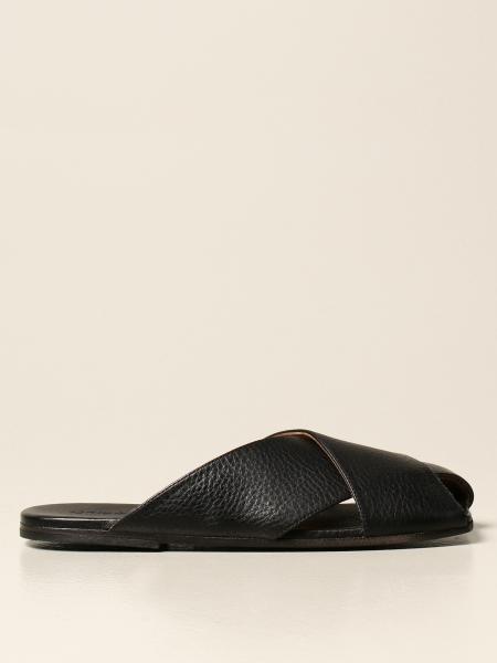 Sandalo Spatola Marsèll in pelle volonata