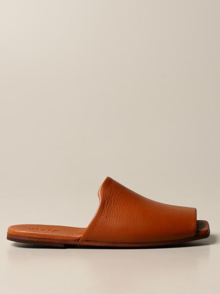 Marsèll Spatola sandal in volonata leather