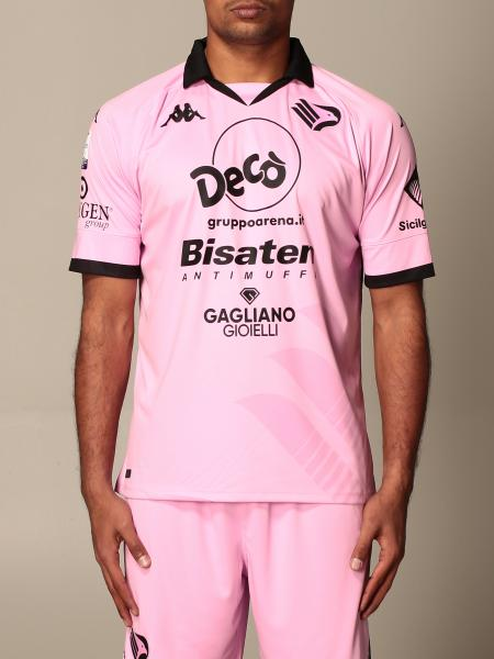 Palermo kombat jersey with sponsor and Serie C league patch in interlock fabric