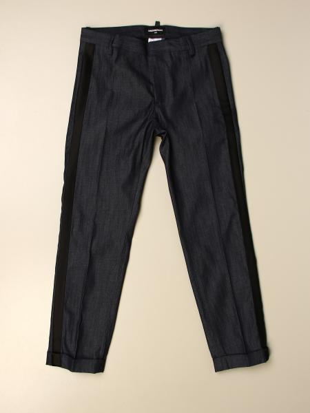 Dsquared2 Junior kids: Dsquared2 Junior trousers with side bands