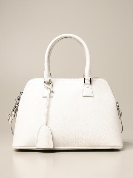 Maison Margiela: 5AC mini Maison Margiela tote handbag in grained leather