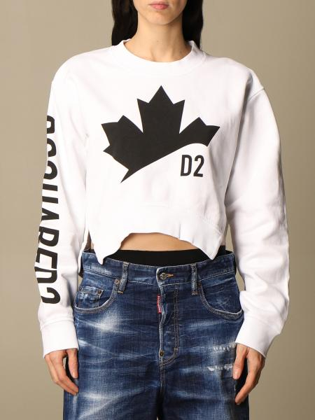 Sweatshirt damen Dsquared2