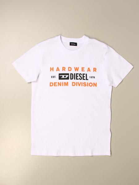 Diesel kids: Diesel cotton t-shirt with logo