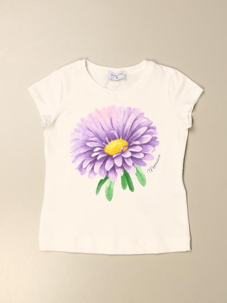 Monnalisa bambino: T-shirt Monnalisa con stampa floreale