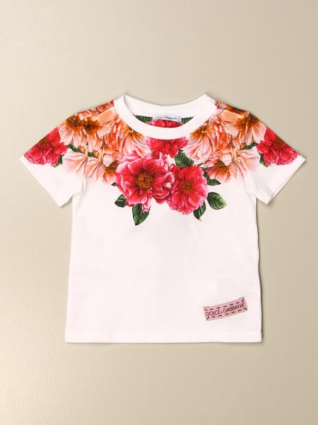 Dolce & Gabbana cotton t-shirt with floral print