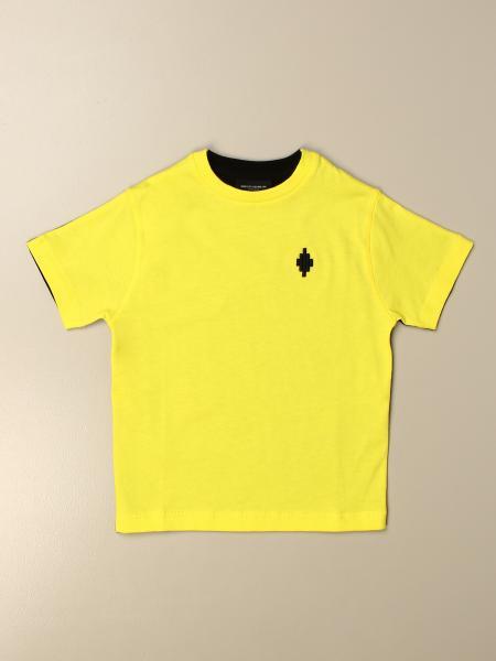 T-shirt Marcelo Burlon in cotone bicolor con mini logo