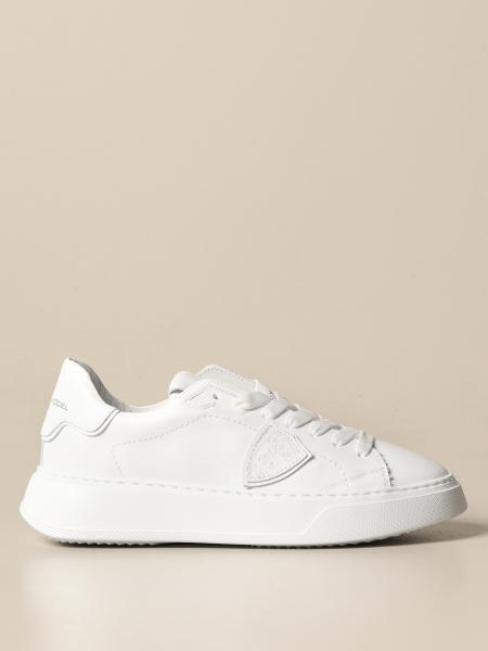 Philippe Model women: Temple Veau Philippe Model sneakers in leather